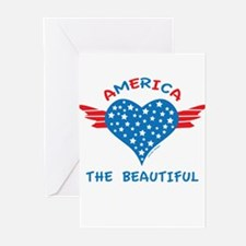America the Beautiful Greeting Cards (Pk of 10)