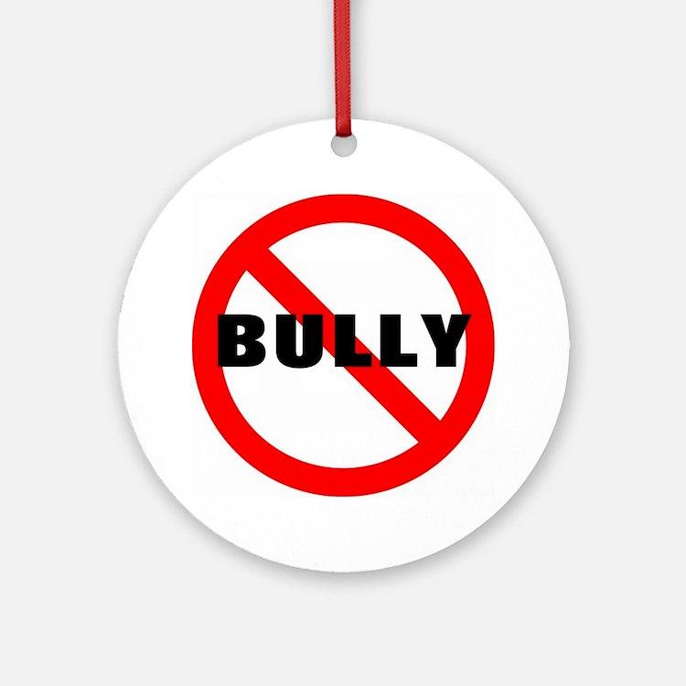 No Bully Ornament (Round)