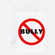No Bully Greeting Card