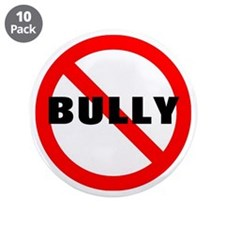 """No Bully 3.5"""" Button (10 pack)"""