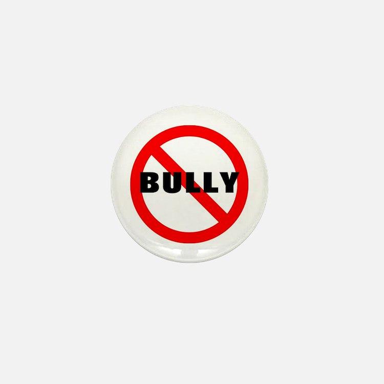 No Bully Mini Button