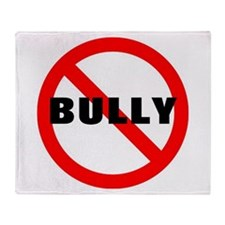 No Bully Throw Blanket
