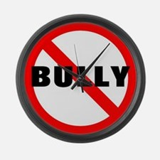 No Bully Large Wall Clock