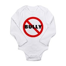 No Bully Long Sleeve Infant Bodysuit