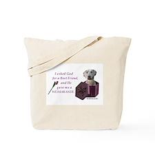 Unique Weimaraner tote Tote Bag