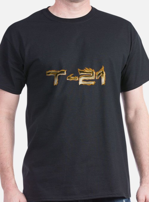 T-21 Metal on Fire T-Shirt