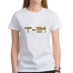 T-21 Metal on Fire Women's T-Shirt