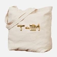 T-21 Metal on Fire Tote Bag