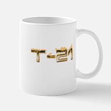T-21 Metal on Fire Mug