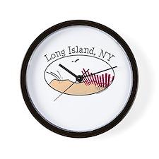 Long Island NY Wall Clock