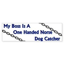Dogcatcher Bumper Bumper Sticker