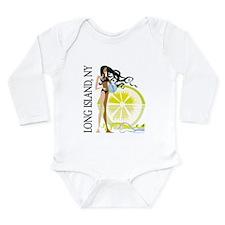 Long Island Long Sleeve Infant Bodysuit