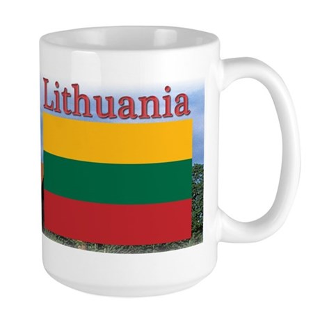 Lithuania Large Mug
