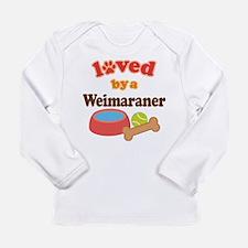 Weimaraner Dog Gift Long Sleeve Infant T-Shirt