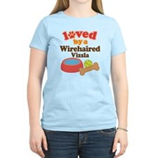 Wirehaired Vizsla Dog Gift T-Shirt