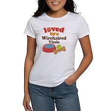 Wirehaired Vizsla Dog Gift Tee