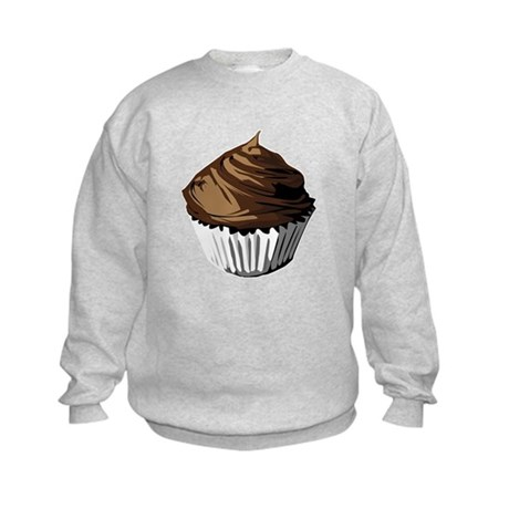 Chocolate cupcake Kids Sweatshirt