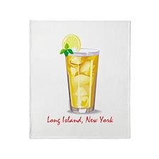 Long Island Iced Tea Throw Blanket