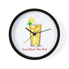 Long Island Iced Tea Wall Clock