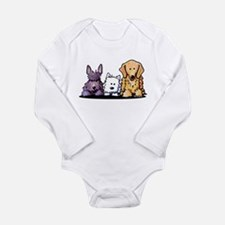 Three Dog Night Long Sleeve Infant Bodysuit