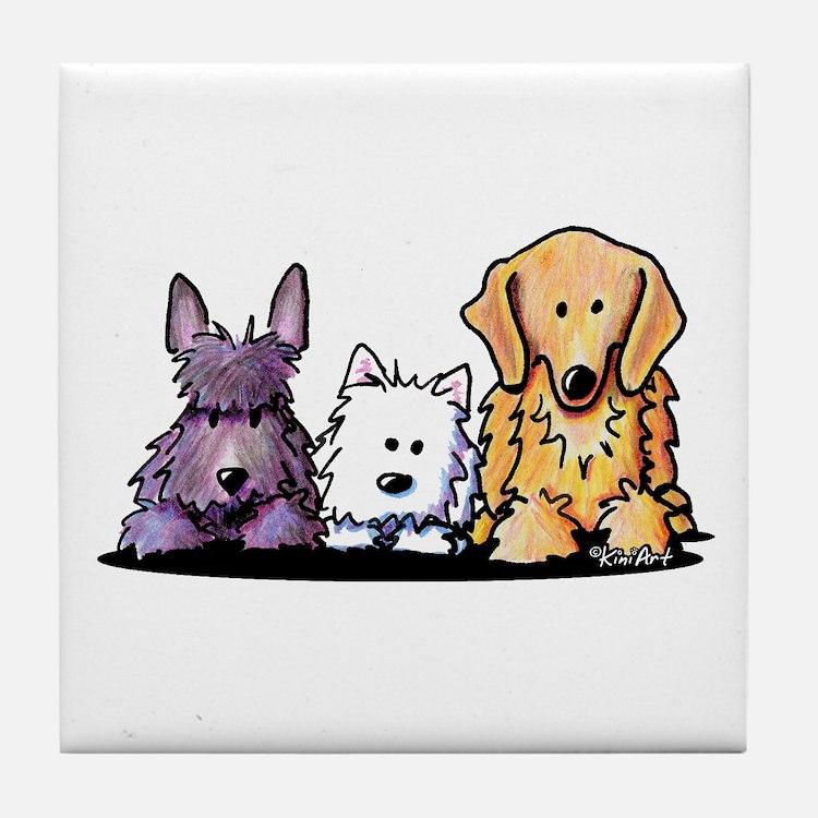 Three Dog Night Tile Coaster