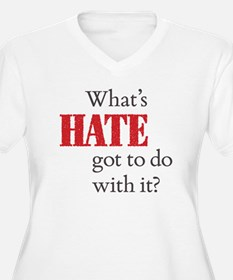 What's HATE got to do with it? T-Shirt