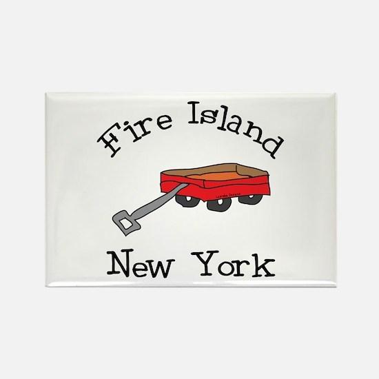Fire Island Rectangle Magnet