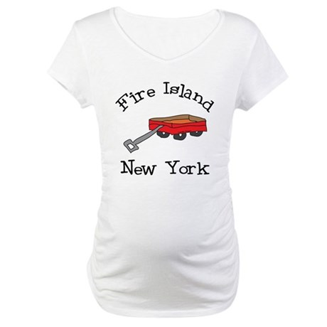 Fire Island Maternity T-Shirt