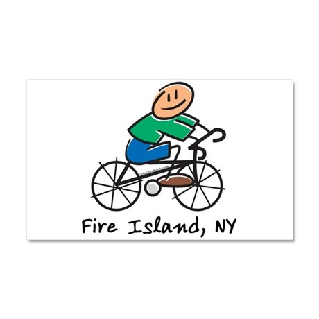 Fire Island Car Magnet 20 x 12