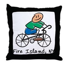 Fire Island Throw Pillow