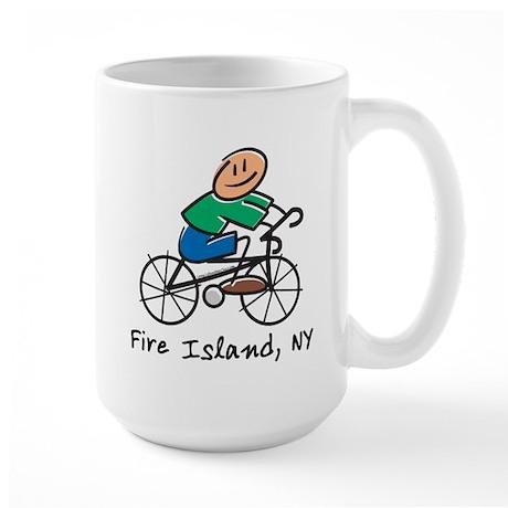 Fire Island Large Mug