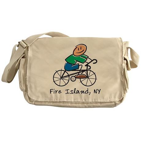 Fire Island Messenger Bag