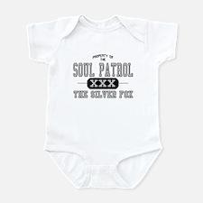 Soul Patrol Silver Fox Infant Creeper