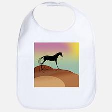 desert horse Bib
