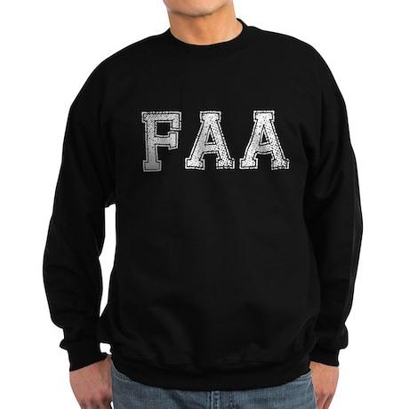 FAA, Vintage, Sweatshirt (dark)