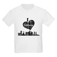 Vintage I heart California.png T-Shirt