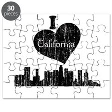 Vintage I heart California.png Puzzle