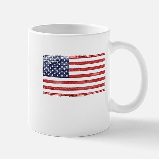 US flag vintage Mug