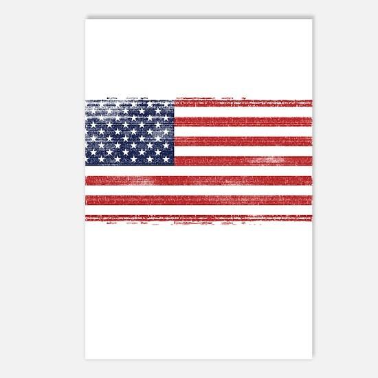 US flag vintage Postcards (Package of 8)