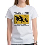 Illegal Invasion Warning Women's T-Shirt