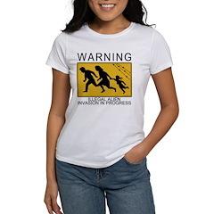 Illegal Invasion Warning Women's T-Shirt
