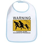 Illegal Invasion Warning Bib