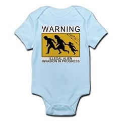 Illegal Invasion Warning Infant Creeper
