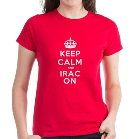 Women's Keep Calm And IRAC On T-Shirt