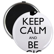 "Keep Calm and Be Logical 2.25"" Magnet (100 pack)"