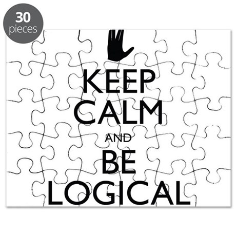 Keep Calm and Be Logical Puzzle