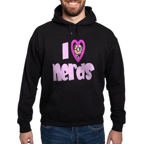 I Love Nerds Hoodie (dark)