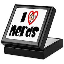 I Love Nerds Keepsake Box