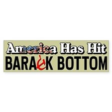 """Barack Bottom"" Bumper Sticker"