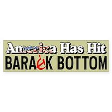 """Barack Bottom"" Bumper Sticker"